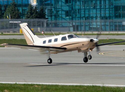 Аренда 6-ти местного самолета Piper PA-46 в Киеве и Украине.